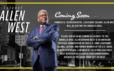 Colonel Allen West Coming Soon to Amarillo