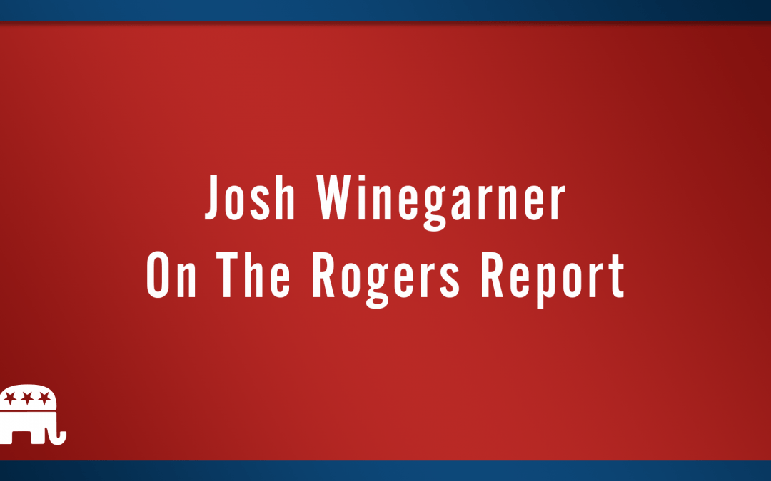 Josh Winegarner on the Rogers Report.
