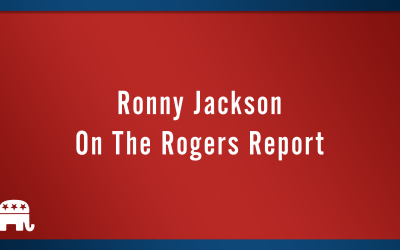 Ronny Jackson on the Rogers Report.