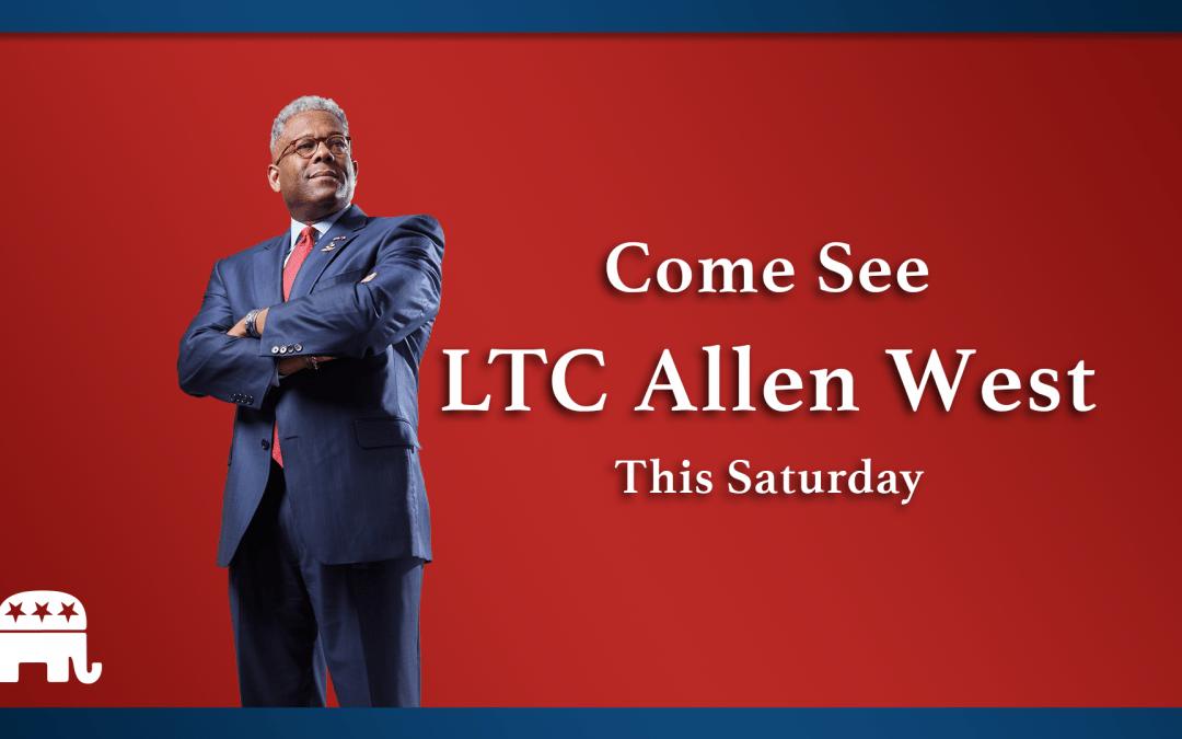 Come See LTC Allen West