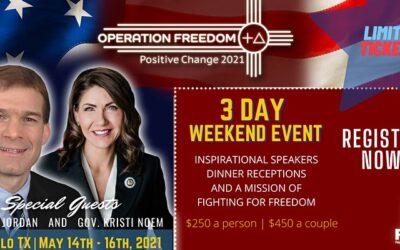 Operation Freedom with Governor Kristi Noem & Representative Jim Jordan: